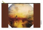 Turner Joseph Mallord William The Exile And The Snail Joseph Mallord William Turner Carry-all Pouch
