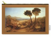Turner Joseph The Bay Of Baiae With Apollo And The Sibyl Joseph Mallord William Turner Carry-all Pouch