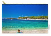 Turquoise Adriatic Beach In Primosten Carry-all Pouch
