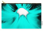 Turquoise Black Hole Carry-all Pouch