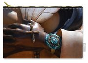 Turquoise Bracelet  Carry-all Pouch