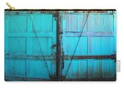 Turquoise Doors Carry-all Pouch
