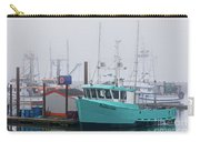 Turquoise Fishing Boat Carry-all Pouch