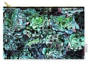Turquoise Garden Of Glass Carry-all Pouch