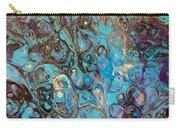 Turquoise Intrigue Carry-all Pouch
