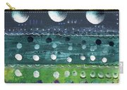 Turquoise Moons Carry-all Pouch
