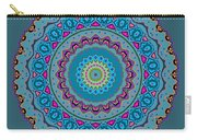 Turquoise Necklace Mandala Carry-all Pouch