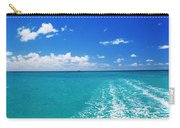 Turquoise Ocean Carry-all Pouch