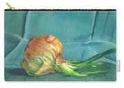 Turquoise Onion Carry-all Pouch