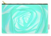 Turquoise Rose Carry-all Pouch