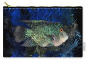 Turquoise Texas Cichlid  Carry-all Pouch