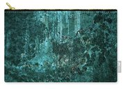 Turquoise Texture Carry-all Pouch