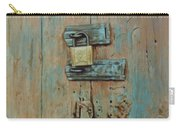 Turquoise Turning Pink Carry-all Pouch