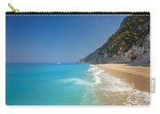 Turquoise Water Paradise Beach Carry-all Pouch