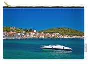 Turquoise Waterfront Of Rogoznica Tourist Destination Carry-all Pouch