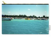 Turquoise Waters At The Torch Lake Sandbar Carry-all Pouch
