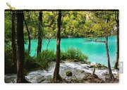 Turquoise Waters Of Milanovac Lake Carry-all Pouch