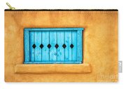 Turquoise Window Shutter Carry-all Pouch