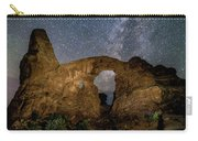 Turret Arch Milkyway, Arches National Park, Utah Carry-all Pouch