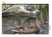 Turtle And Duck Carry-all Pouch