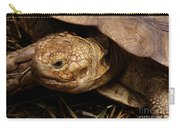 Turtle Closeup Carry-all Pouch