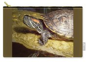 Turtle Reflections Carry-all Pouch by Deleas Kilgore