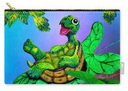 Turtle Trampoline Carry-all Pouch