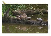 Turtles And A Duck Carry-all Pouch