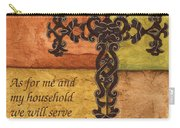 Tuscan Cross Carry-all Pouch by Debbie DeWitt