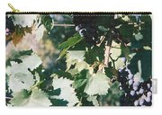 Tuscan Grapes Photograph Carry-all Pouch