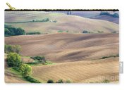 Tuscan Landscape With Plowed Fields Carry-all Pouch