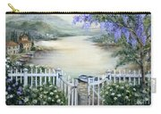 Tuscan Pond And Wisteria Carry-all Pouch