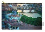 Tuscan Sunbeams Carry-all Pouch by Inge Johnsson