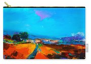Tuscan Village Carry-all Pouch by Elise Palmigiani