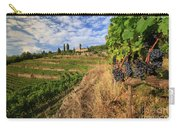 Tuscan Vineyard And Grapes Carry-all Pouch