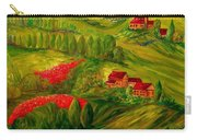 Tuscany At Dawn Carry-all Pouch by Eloise Schneider