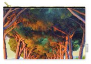 Tuscany Tree Tunnel Carry-all Pouch