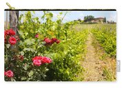 Tuscany Villa And Roses Carry-all Pouch