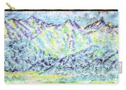 Tusheti Hay Meadows Caucasus Mountains I Carry-all Pouch