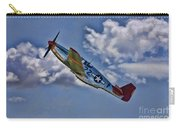 Tuskegee Mustang Red Tail Carry-all Pouch