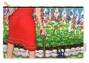 Tuxedo Cat - Edens Garden Carry-all Pouch