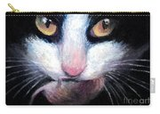 Tuxedo Cat With Mouse Carry-all Pouch
