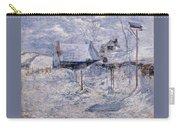 twachtman last touch of sun c1893 John Henry Twachtmann Carry-all Pouch
