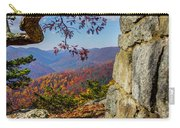 Twenty Minute Cliff Blue Ridge Parkway I Carry-all Pouch