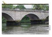 Twickenham Bridge Spans The Thames Carry-all Pouch