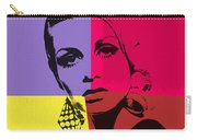 Twiggy Pop Art 1 Carry-all Pouch
