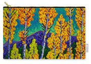Twilight Aspens Carry-all Pouch