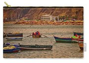Twilight At The Beach, Miraflores, Peru Carry-all Pouch