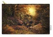 Twilight Autumn Garden Carry-all Pouch