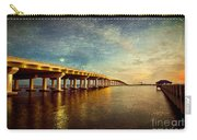 Twilight Biloxi Bridge Carry-all Pouch